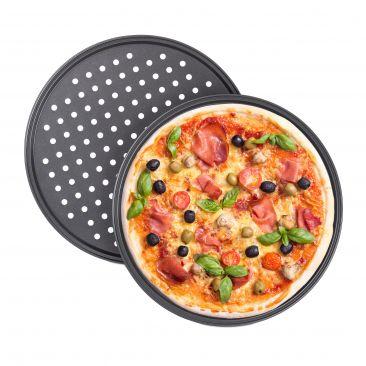 Knusper Pizzablech 2er Set Gesamtansicht