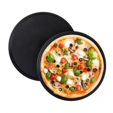 Antihaft Pizzablech 2er Set Gesamtansicht
