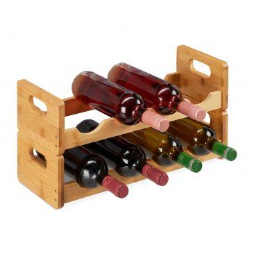 Weinregal für 8 Flaschen Gesamtansicht