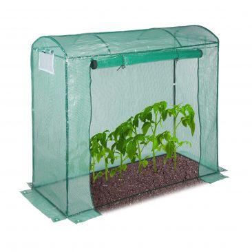 Tomatengewächshaus 200x80 grün Gesamtansicht