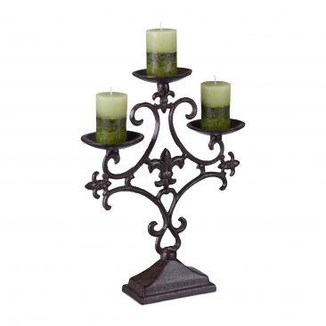 Kerzenständer antik Gesamtansicht