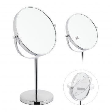 Kosmetikspiegel mit 10-fach Vergrößerung Gesamtansicht