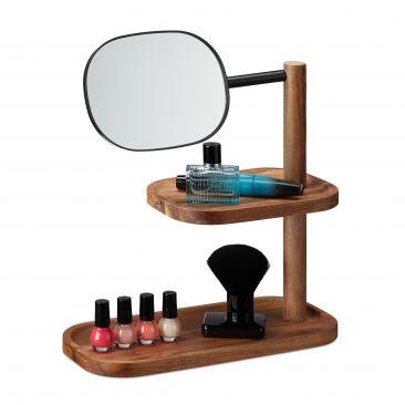 Kosmetikspiegel mit Ablagen