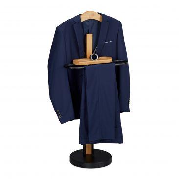 Dressboy bamboe & metaal