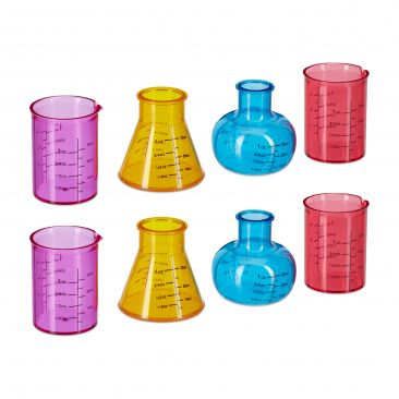 Shotgläser Chemie 8er Set