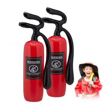Inflatable Fire Extinguisher Toy Set of