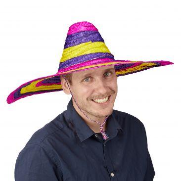 Sombrero mexicano de colores