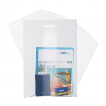 Set de 25 portafolios transparentes