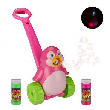 Seifenblasenmaschine Pinguin