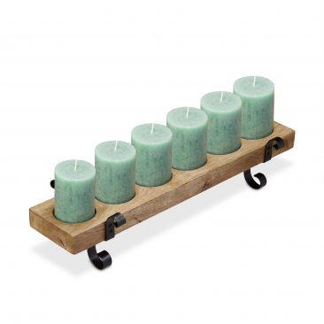 Kerzenständer Vintage für 6 Kerzen Gesamtansicht