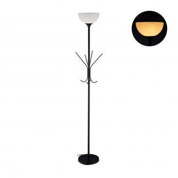 Stehlampe mit Garderobenständer Gesamtansicht