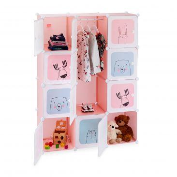 Steckregal Kinderzimmer mit 12 Fächern Gesamtansicht