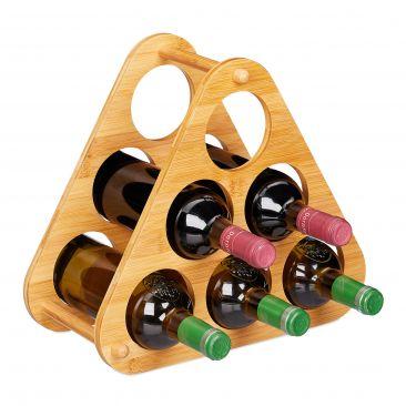 Weinregal Pyramide 6 Flaschen Gesamtansicht