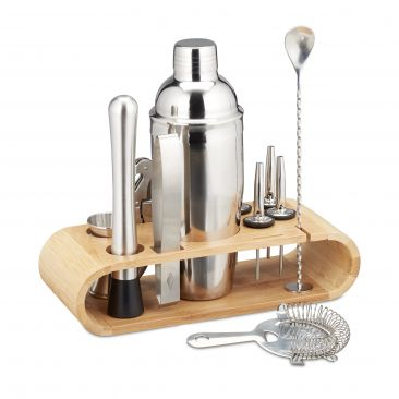 Set da cocktail 11 pz. in acciaio inox