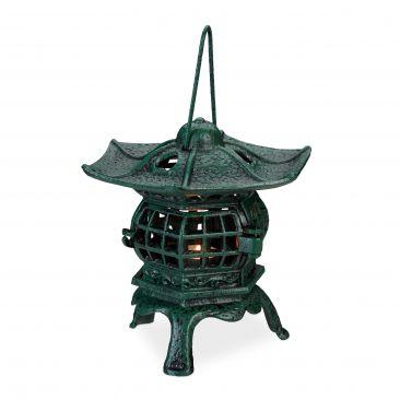 Teelichthaus aus Gusseisen Gesamtansicht