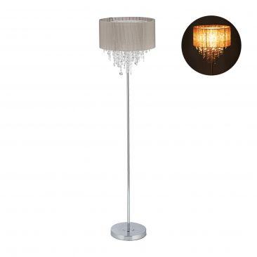 Stehlampe Organza Kristall Gesamtansicht