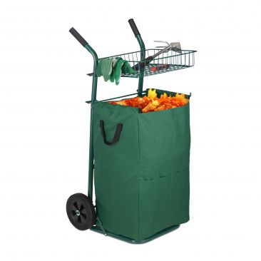 Garden Trolley For Leaves 70 L