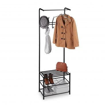 Coat Stand with Shoe Storage