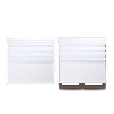 2 x Doppelrollo Innenrollo Tageslichtrollo Fensterrollo 100 x 160 Thermorollo