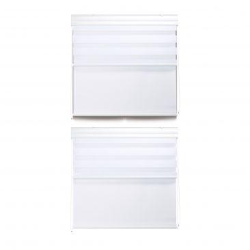 2 x Doppelrollo Tageslichtrollo Fensterrollo 110 x 160 Thermorollo Innenrollo