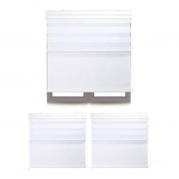 3 x Doppelrollo Innenrollo Tageslichtrollo Fensterrollo Thermorollo 100 x 160