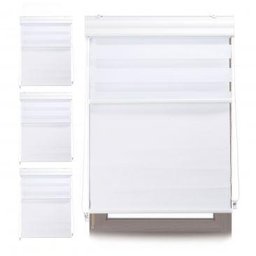 4 x Doppelrollo Innenrollo Tageslichtrollo 90x160 Thermorollo Rollo Fensterrollo