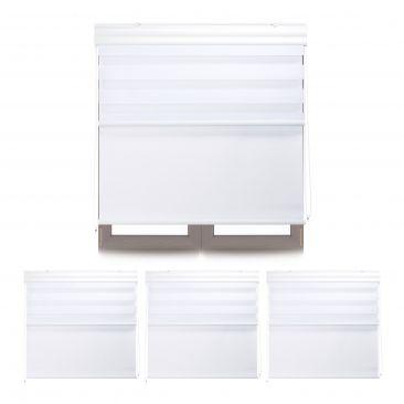 4 x Doppelrollo Innenrollo 100 x 160 Tageslichtrollo Fensterrollo Thermorollo