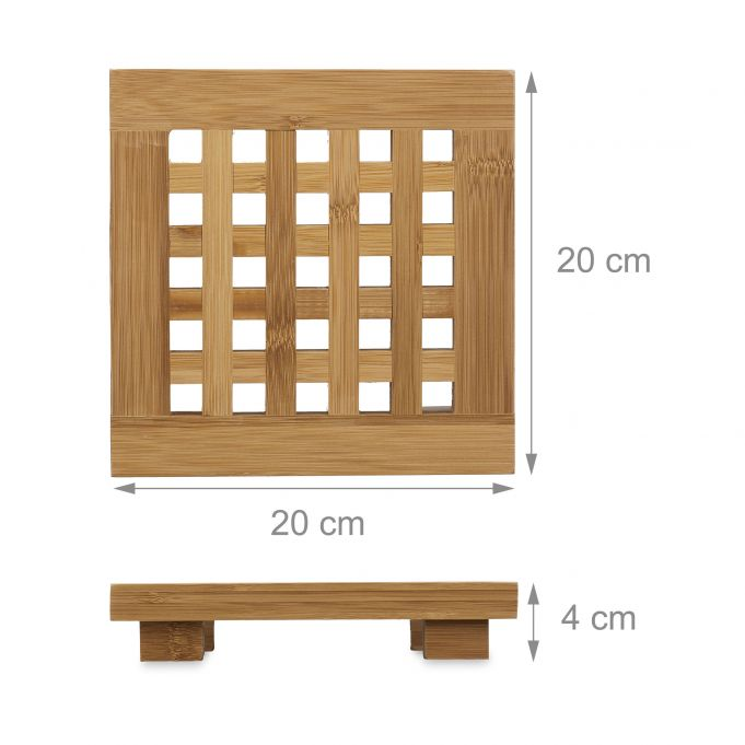 Set Of 2 Bamboo Trivets2