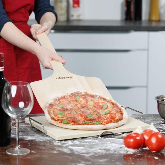 Pizzaschieber Holz XXL2