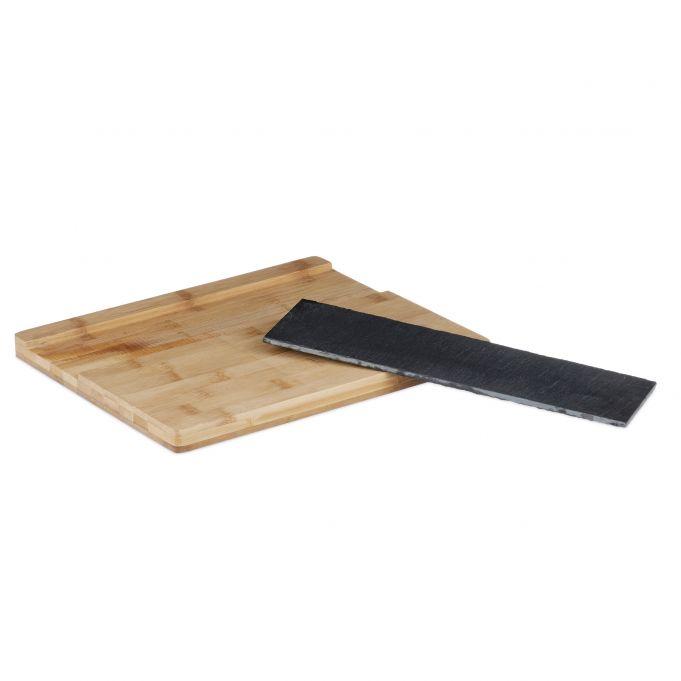 Tabla cortar de bambú y pizarra4