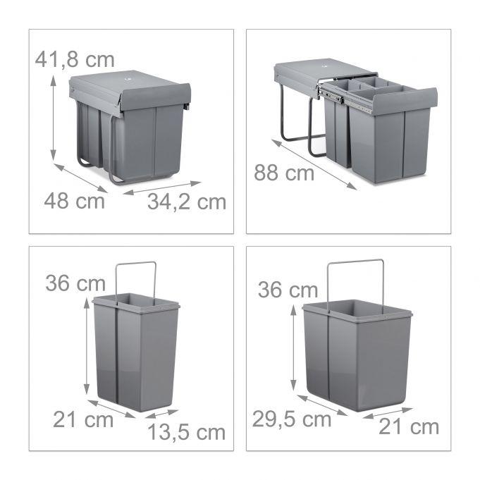 Mülltrennsystem 40 Liter2