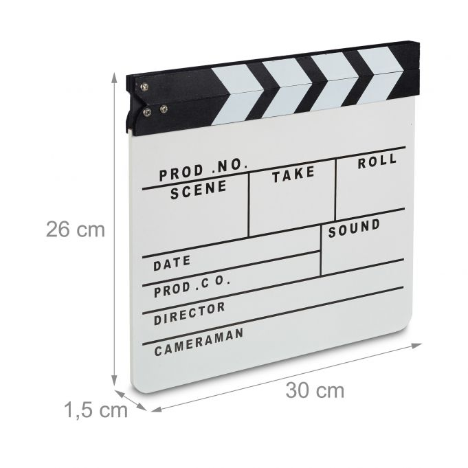 Claqueta cine blanco4