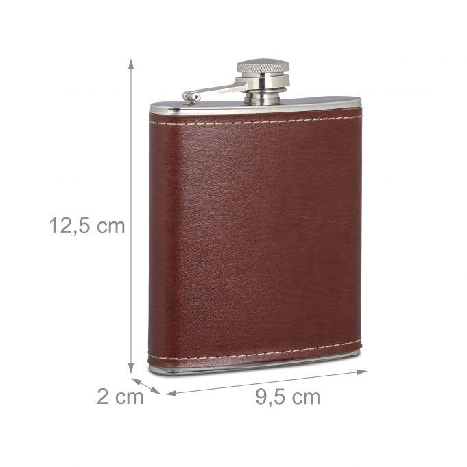 Fiaschetta da 200 ml borraccia tascabile4