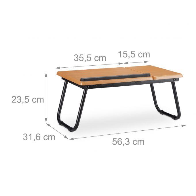Mesa ordenador portátil reclinable4