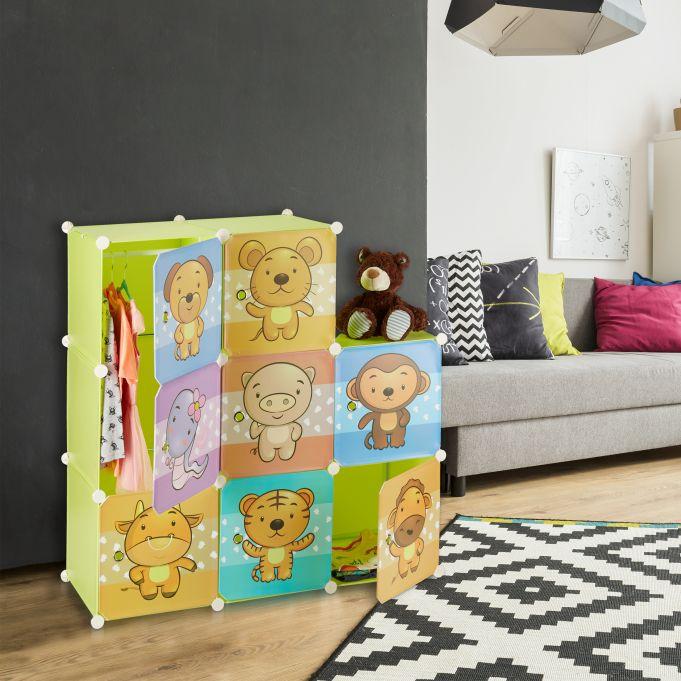 Szafa garderoba modułowa dla dziecka3