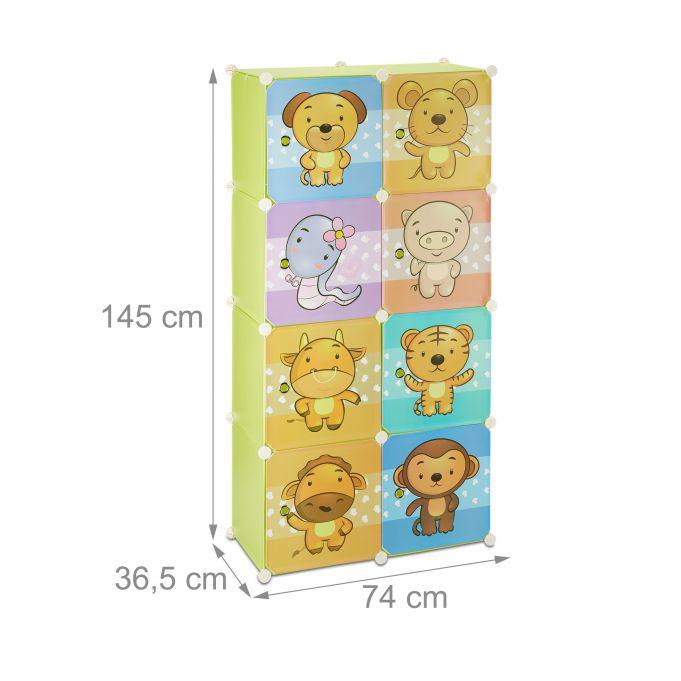 Szafa garderoba modułowa dla dziecka4