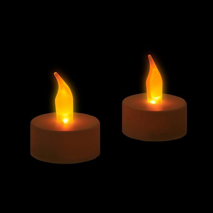 Lumini LED Set doppio di candeline3