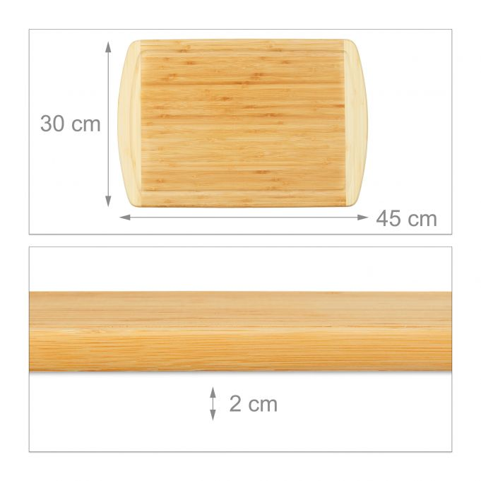 Bamboo Cutting Board with Juice Groove4