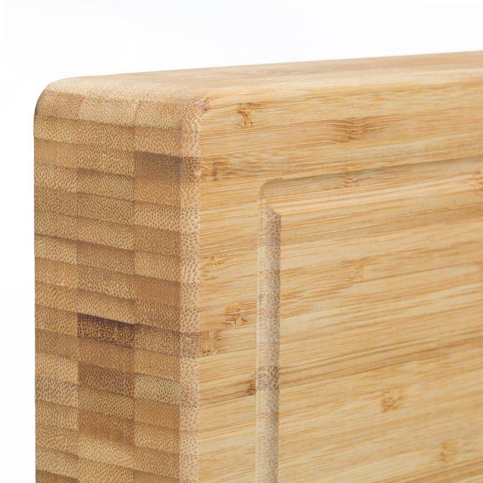 Tagliere grande da cucina in bambù4