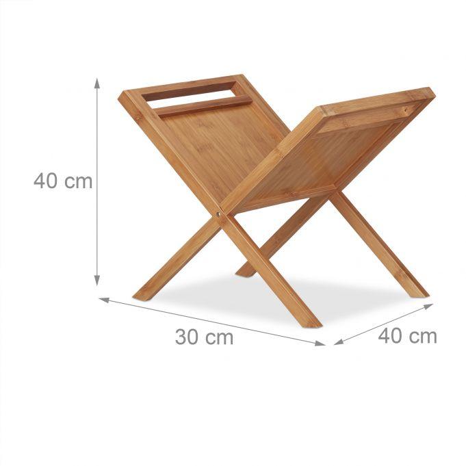 Portariviste portagiornali in bambù4
