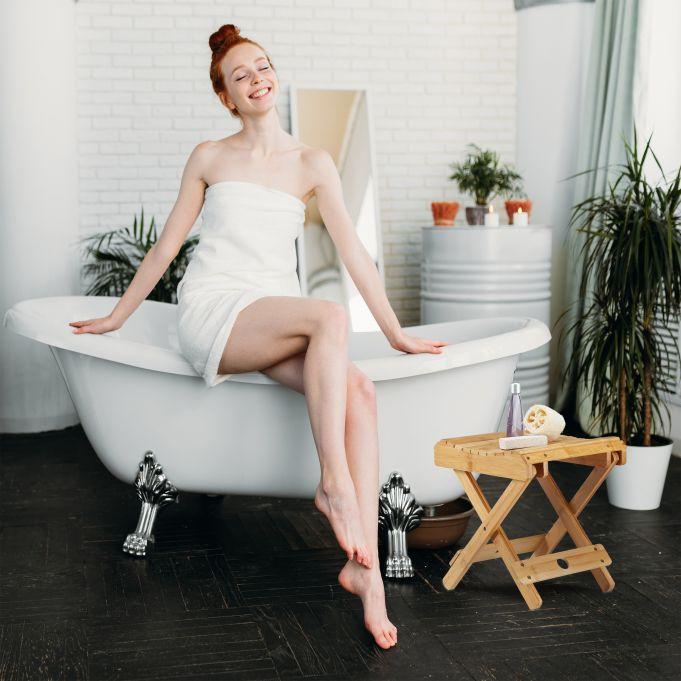 Bamboo Folding Footstool3