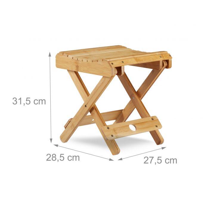 Bamboo Folding Footstool4