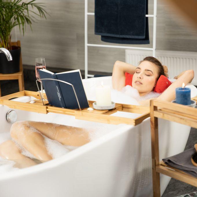 Vassoio allungabile per vasca da bagno2
