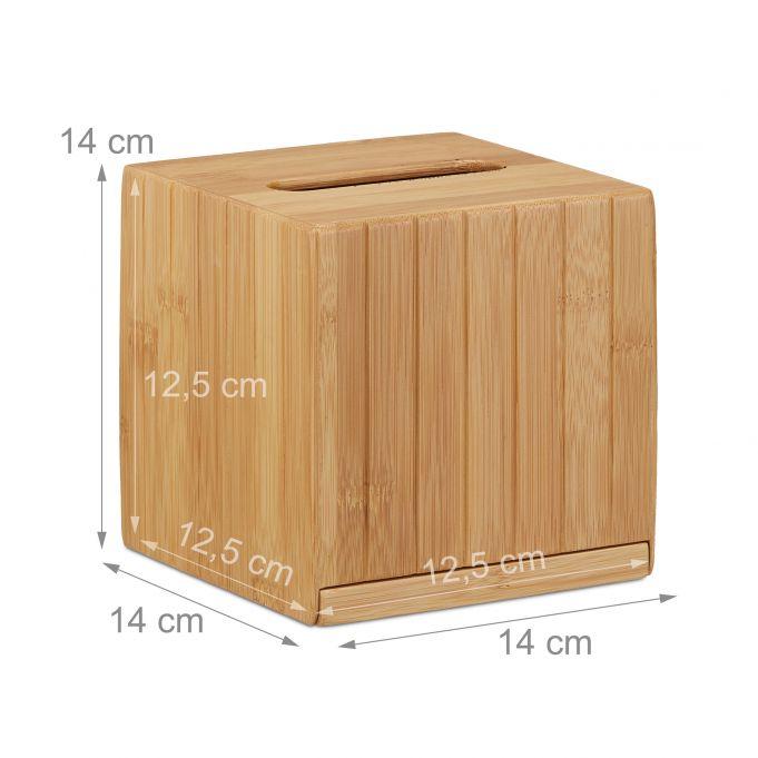 Scatola porta fazzoletti quadrata4
