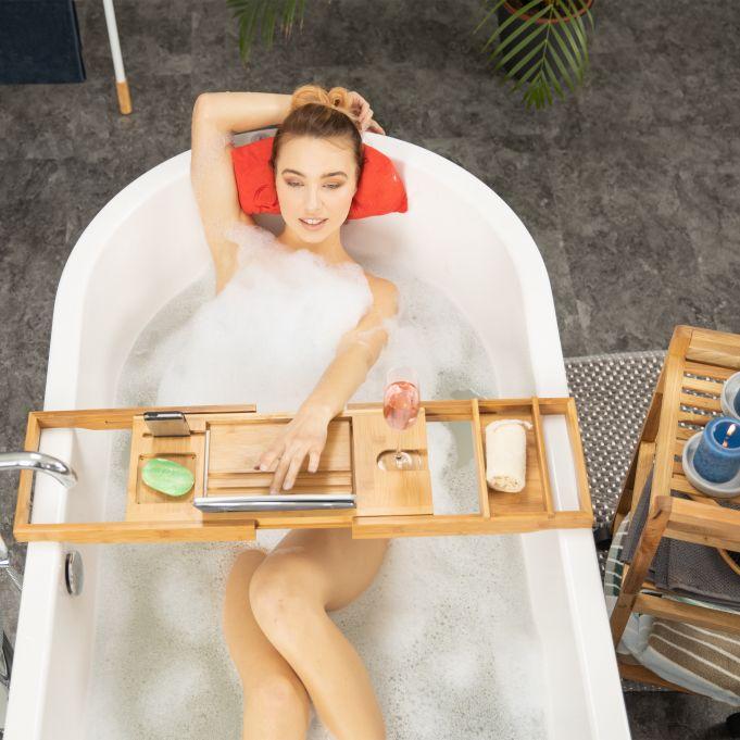 Bandeja para bañera con atril2