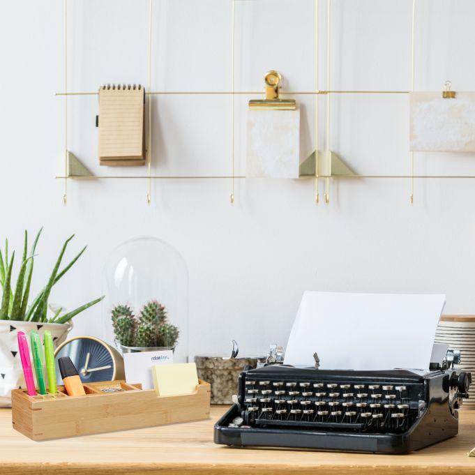 Bamboo Desk Organiser2