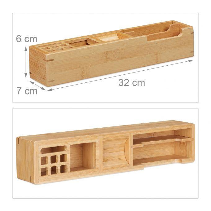 Bamboo Desk Organiser4