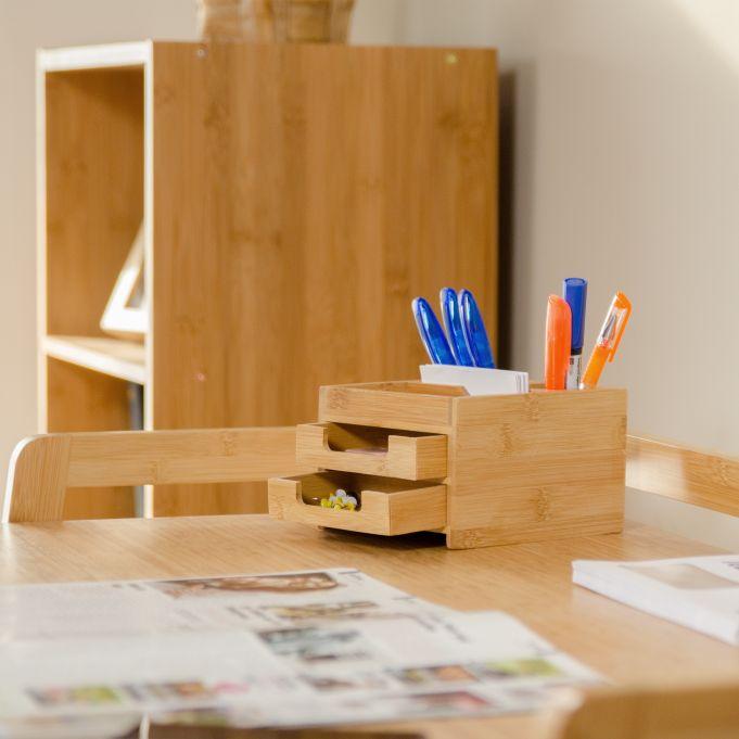 Organizador de escritorio con cajones2