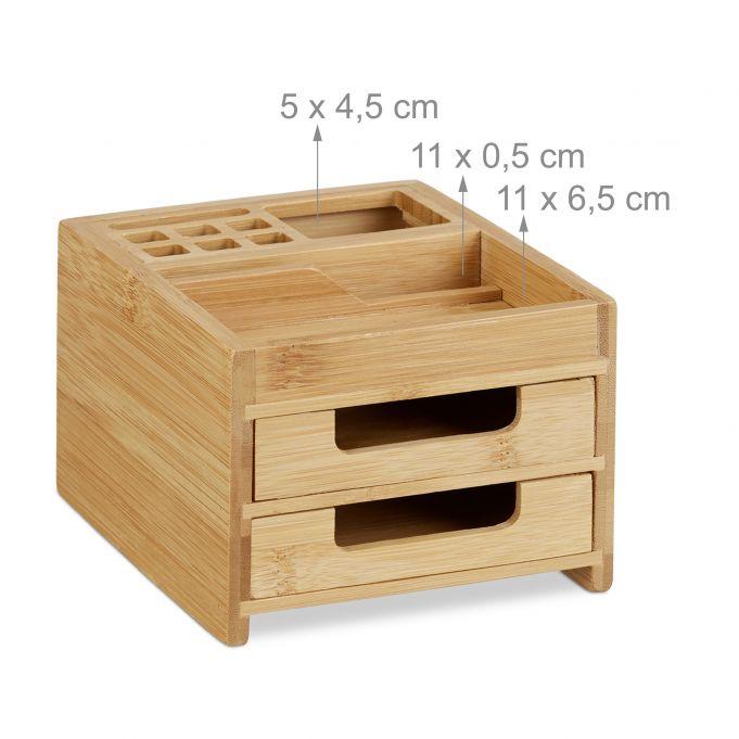 Organizador de escritorio con cajones4