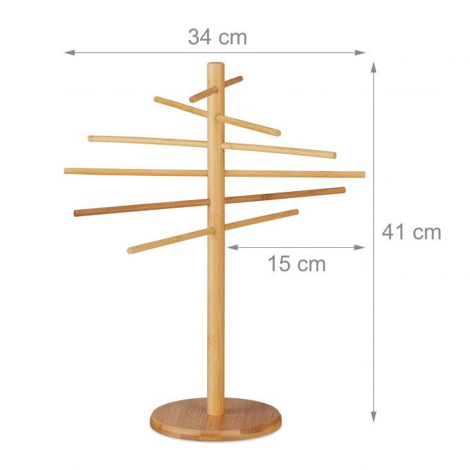 Bamboo Pasta Drying Rack4
